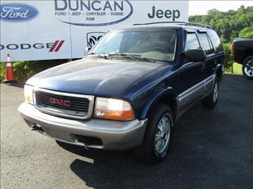 2001 GMC Jimmy for sale in Rocky Mount, VA