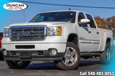 2011 GMC Sierra 2500HD for sale in Rocky Mount, VA