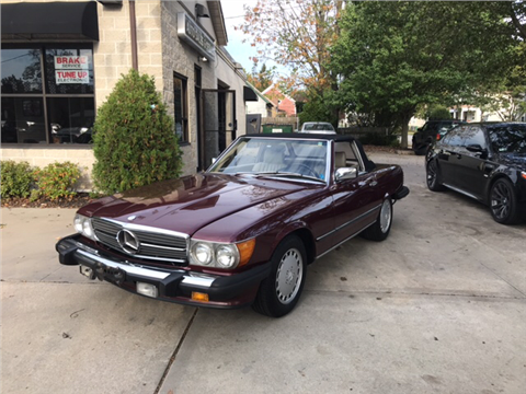 1987 Mercedes-Benz 560-Class for sale in Warwick, RI