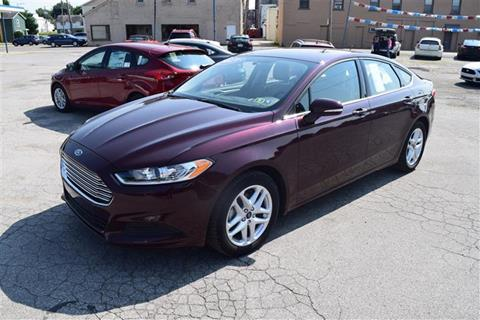 2013 Ford Fusion for sale in Greenville, PA