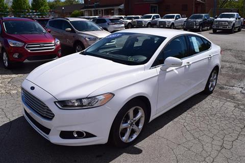 2013 Ford Fusion for sale in Greenville PA