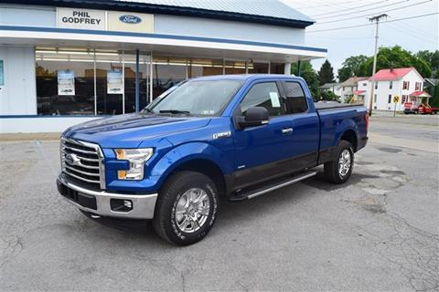 2017 Ford F-150 for sale in Greenville PA