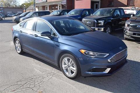 2018 Ford Fusion for sale in Greenville, PA