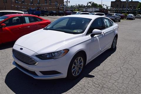 2017 Ford Fusion for sale in Greenville PA