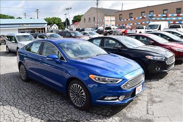 2017 Ford Fusion for sale in Greenville, PA