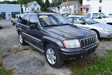 2003 Jeep Grand Cherokee for sale in Greenville, PA