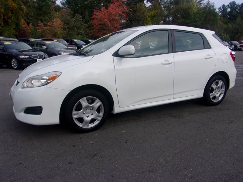 2011 Toyota Matrix 4dr Wagon 4a In Londonderry Nh Marks Discount