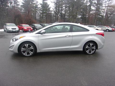2013 Hyundai Elantra Coupe for sale in Londonderry, NH