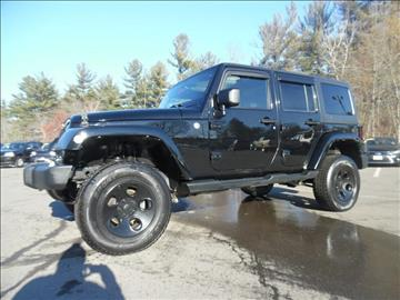 2012 Jeep Wrangler Unlimited for sale in Londonderry, NH