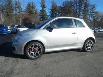 2012 FIAT 500 for sale in Londonderry, NH