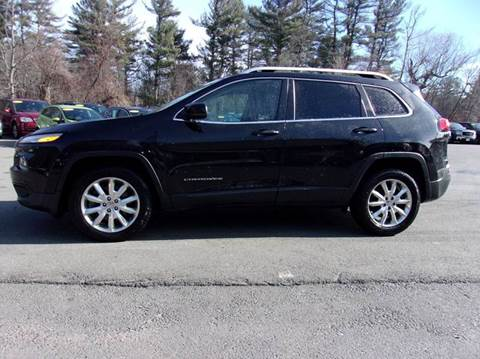 2016 Jeep Cherokee for sale in Londonderry, NH