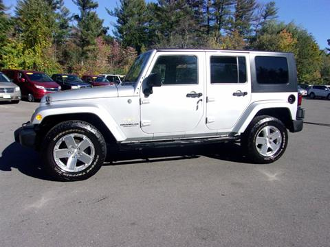 2008 Jeep Wrangler Unlimited for sale in Londonderry, NH