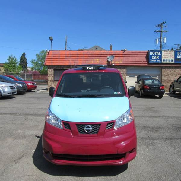 2014 Nissan Nv200 Taxi 4dr Mini Van In Detroit Mi Royal Car Center Inc