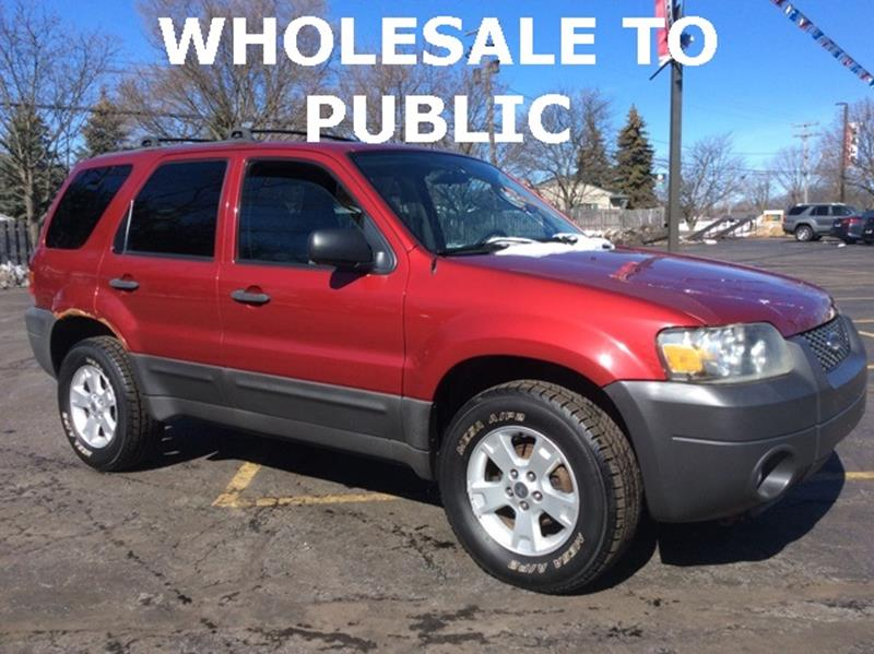 2007 ford escape for sale for A b motors waterford mi