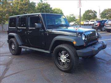 2012 Jeep Wrangler Unlimited for sale in Waterford, MI