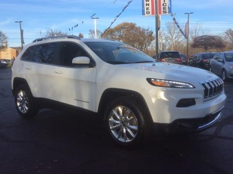 2015 Jeep Cherokee for sale in Waterford, MI