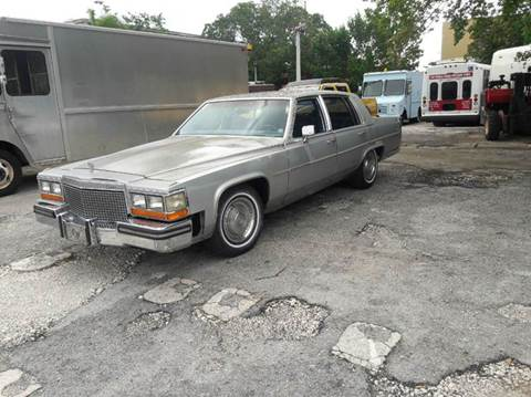 1988 Cadillac Brougham for sale in Miami, FL