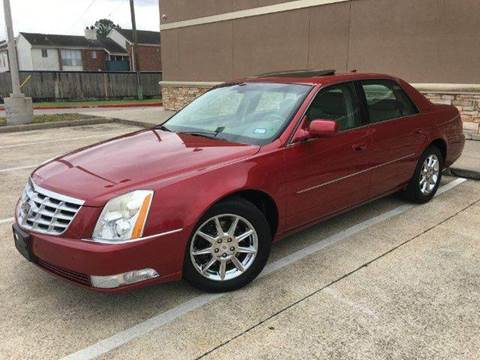 2011 Cadillac DTS for sale in Houston, TX