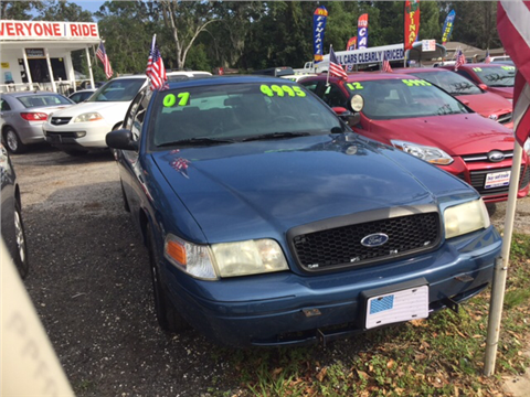 2007 Ford Crown Victoria for sale in Jacksonville, FL