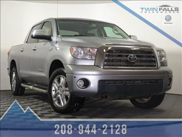 2008 Toyota Tundra For Sale Idaho