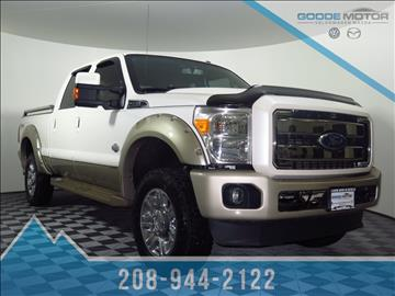 Ford F 350 Super Duty For Sale In Idaho