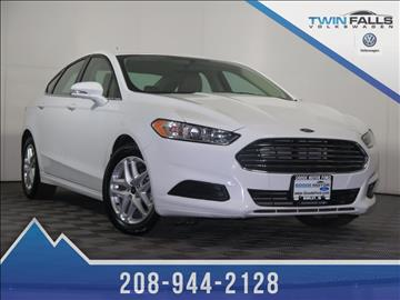 2016 ford fusion for sale for Goode motor volkswagen mazda twin falls id