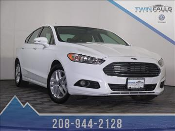 Used Ford Fusion For Sale Idaho
