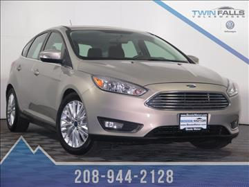 2015 Ford Focus For Sale Idaho