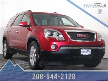 Gmc Acadia For Sale Idaho