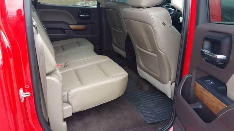 2014 Chevrolet Silverado 1500 4x4 LTZ 4dr Crew Cab 5.8 ft. SB - Dewey OK