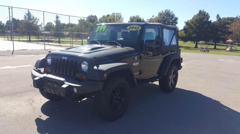2012 Jeep Wrangler 4x4 Call of Duty MW3 2dr SUV In Dewey OK