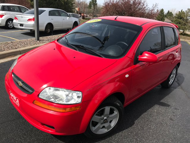 2006 chevrolet aveo ls 4dr hatchback in denver co. Black Bedroom Furniture Sets. Home Design Ideas