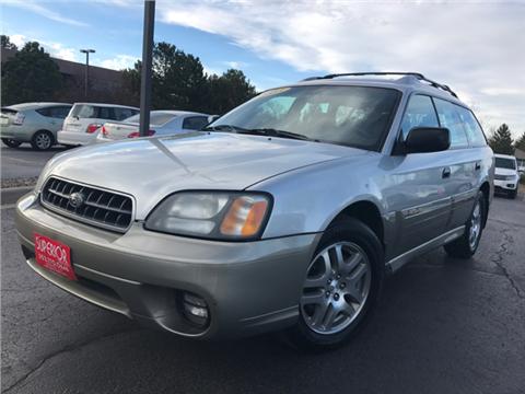 2003 Subaru Outback for sale in Denver, CO