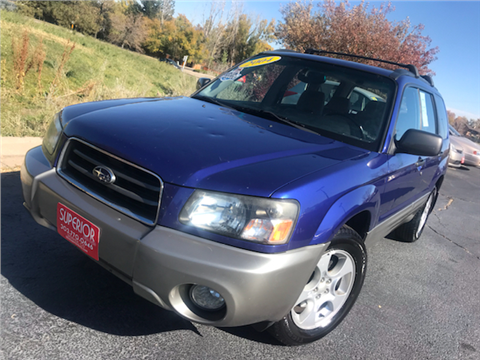 2004 Subaru Forester for sale in Denver, CO