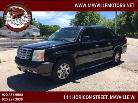 2003 Cadillac Escalade EXT for sale in Mayville, WI