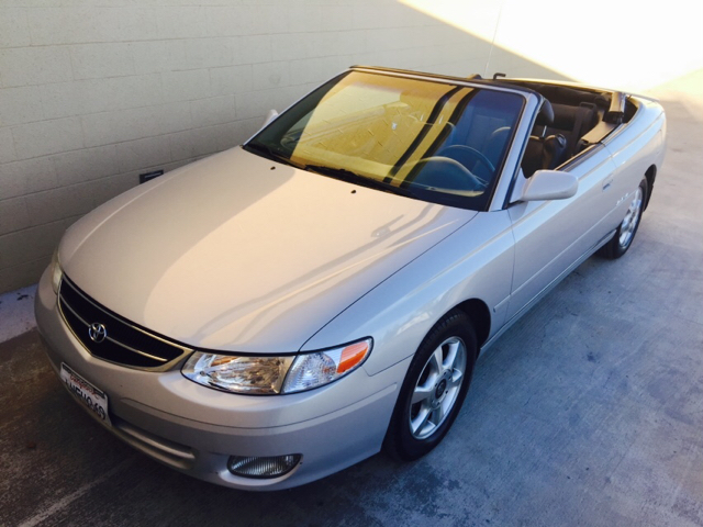 2000 toyota camry solara sle v6 2dr convertible in rancho. Black Bedroom Furniture Sets. Home Design Ideas