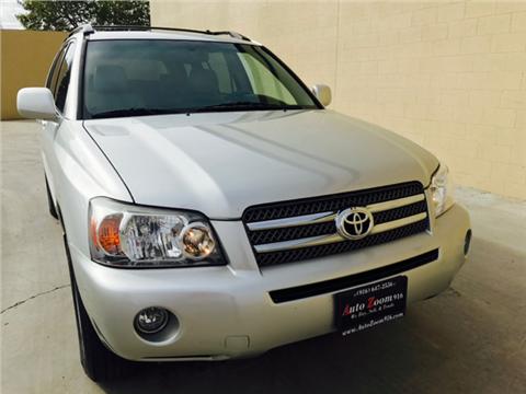 2006 Toyota Highlander Hybrid for sale in Rancho Cordova, CA