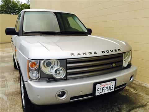 2004 Land Rover Range Rover for sale in Rancho Cordova, CA