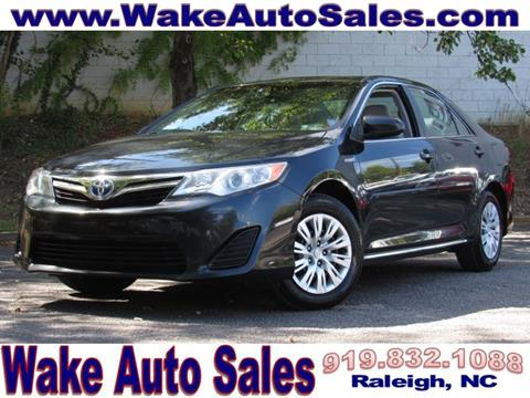 2013 Toyota Camry Hybrid for sale in Raleigh, NC