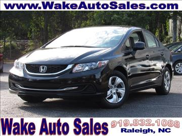 honda civic for sale raleigh nc. Black Bedroom Furniture Sets. Home Design Ideas