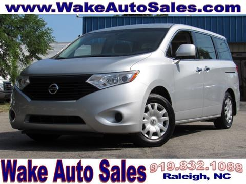 2013 Nissan Quest for sale in Raleigh, NC