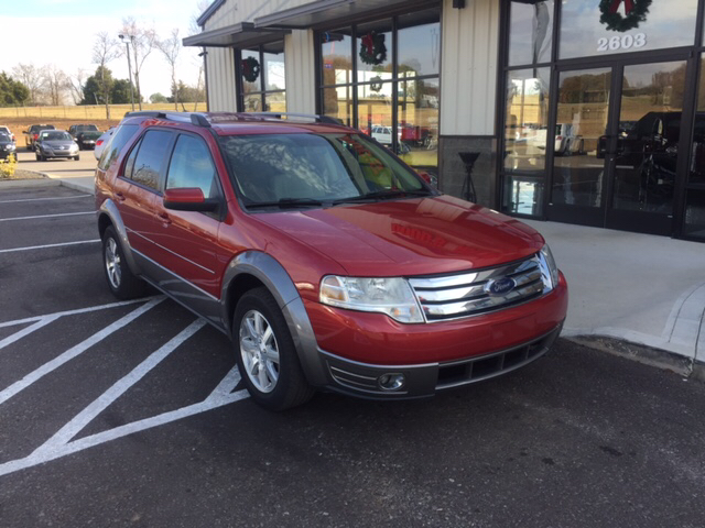 2009 ford taurus x sel 4dr wagon in pleasant view tn doug 39 s auto sales inc. Black Bedroom Furniture Sets. Home Design Ideas
