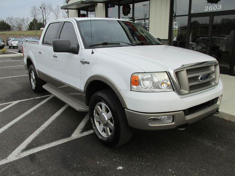 2005 ford f 150 king ranch 4dr supercrew 4wd styleside 5 5 ft sb in pleasant view tn doug 39 s. Black Bedroom Furniture Sets. Home Design Ideas