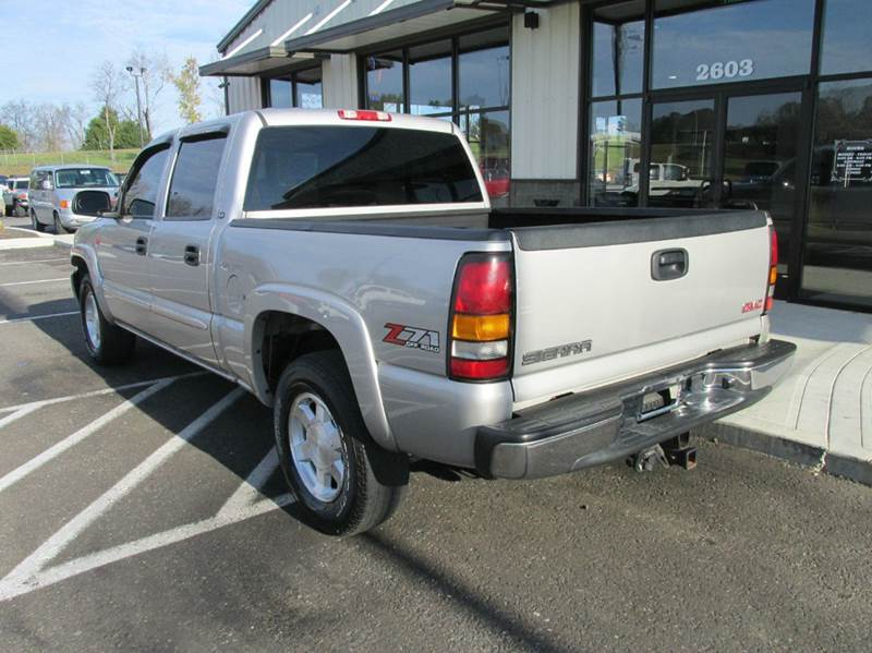 2004 gmc sierra 1500 sle 4dr crew cab 4wd sb in pleasant. Black Bedroom Furniture Sets. Home Design Ideas