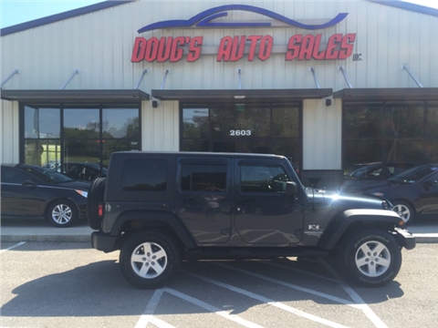 2008 Jeep Wrangler Unlimited for sale in Pleasant View, TN