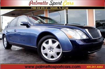 2004 Maybach 57 for sale in Miami, FL