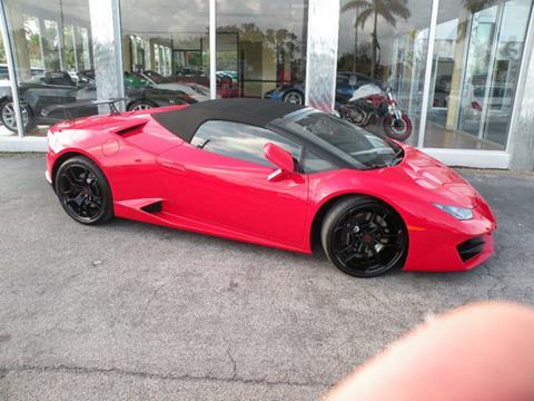 2017 Lamborghini Huracan for sale in Miami, FL