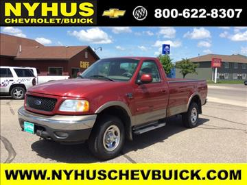 2002 Ford F-150 for sale in Staples, MN