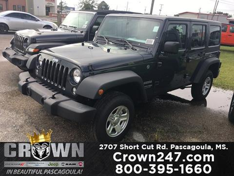 2018 Jeep Wrangler Unlimited for sale in Pascagoula, MS