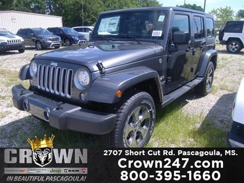 2017 Jeep Wrangler Unlimited for sale in Pascagoula, MS